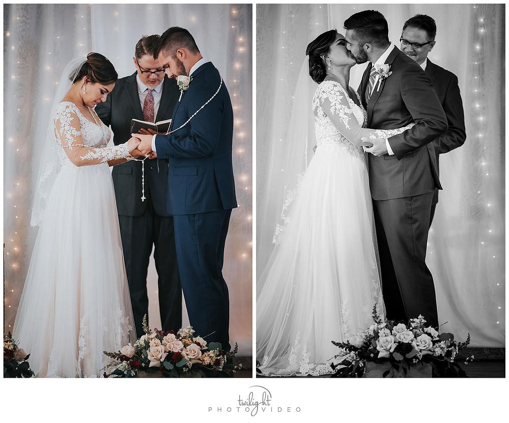 Magoffin Hall Ceremony-El Paso Wedding Photography