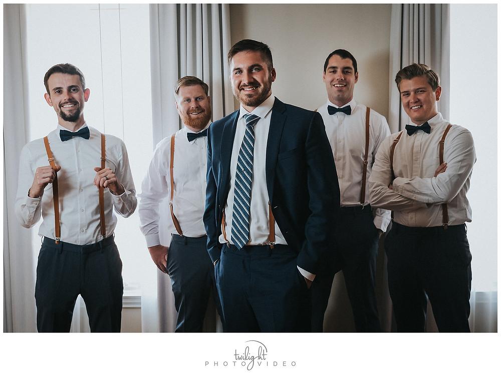 Groomsmen-El Paso Wedding Photography