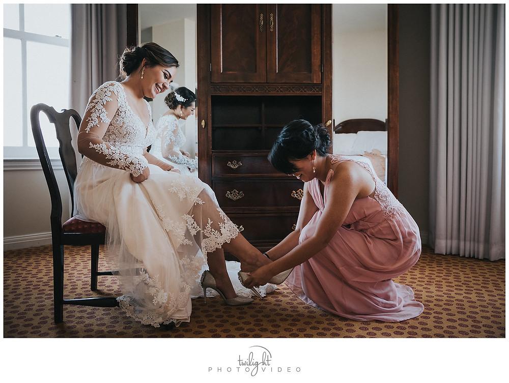 Bride's Shoes-El Paso Wedding Photography