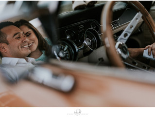 Maternity Photography - Classic Car Theme {Karen + Joe}