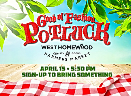 5 Reasons to Come to the Good Ol' Fashion Potluck