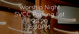 Worship Night in the Parking Lot at Shades Valley Community Church