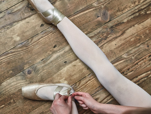 How to sew your pointe shoe!
