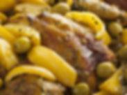 Tajine de poulet olives pomme de terre traieur halal saint etienne