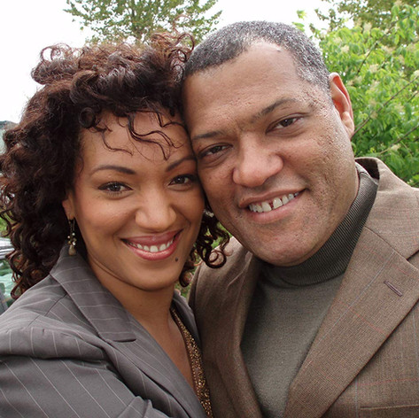 "Karen Holness plays wife of Laurence Fishbourne in feature Film ""Tortured"""