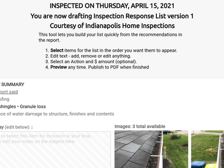 Realtors...automate your inspection responses!