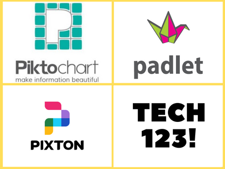 Presentation Tools Recommended by Julie Smith: Piktochart, Padlet, & Pixton