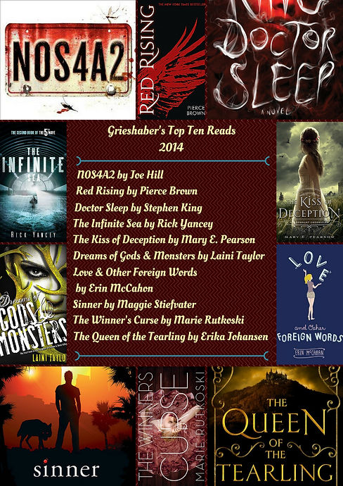 Grieshaber's 2014 Top 10