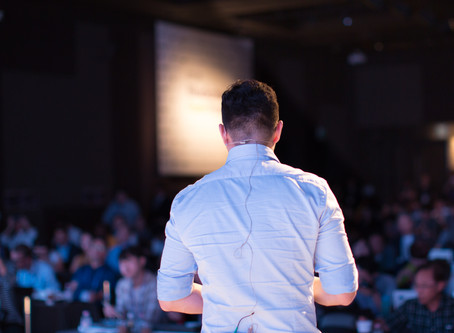 Public Speaking anyone? Turn your nervous energy into quiet confidence with these 5 tips..