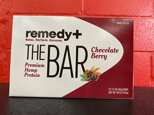 Remedy+ Chocolate Berry Protein Bar