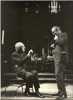 With Leopold Stokowski, 1970