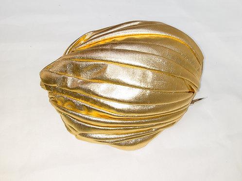 Gold Turban Hat