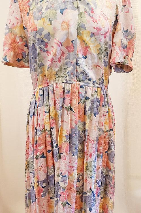 Vintage Floral Talbots Dress