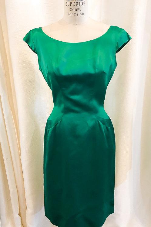Vintage Green Convertible Dress