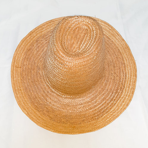 Vintage Tall Straw Hat