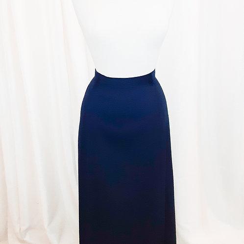 Vintage Navy Wool Pendleton Skirt