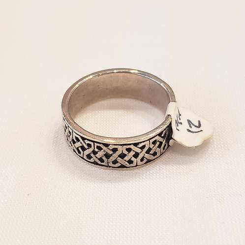 Vintage Sterling Silver Knotted Ring