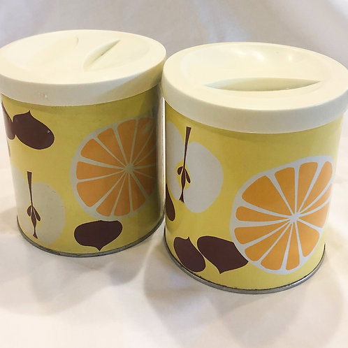Vintage Procter & Gamble Mid-Century Canisters