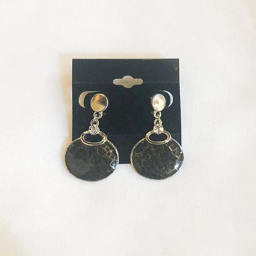 Vintage Leopard Drop Earrings