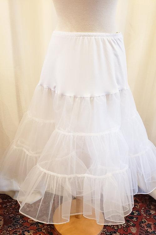 Vintage-Inspired White Petticoat