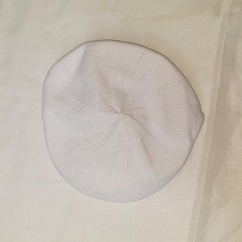 Vintage White Flat Cap