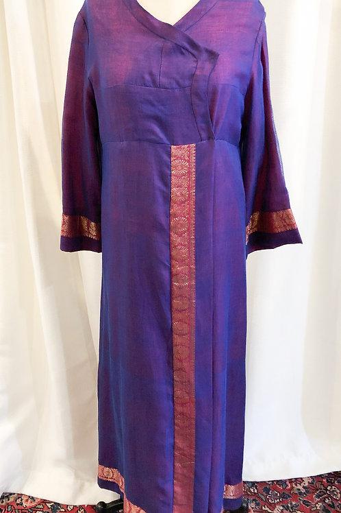 Vintage Purple Handmade Robe