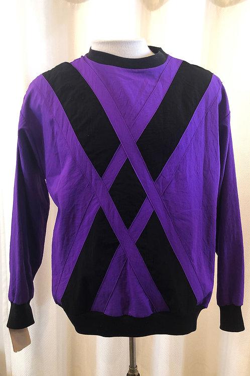 Vintage Purple and Black BonWorth Sweatshirt