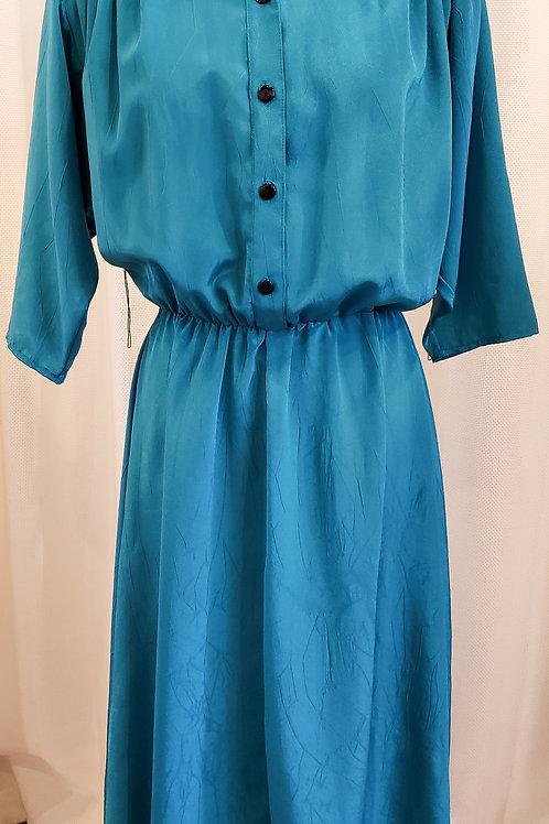 """Vintage Teal """"JT Dress"""" Dress"""