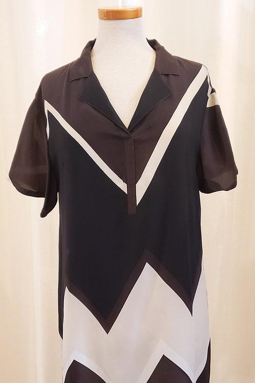 Vintage Chevron Doncaster Dress