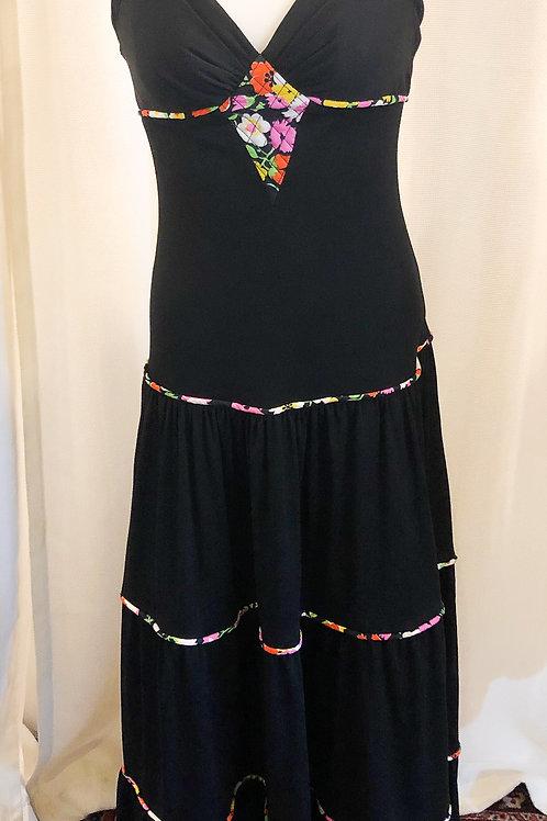 Vintage Black Maxidress