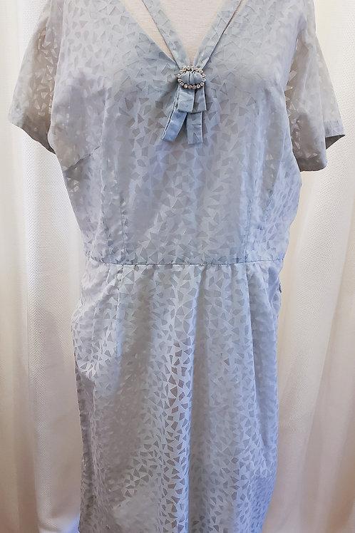 Vintage 1930s/1940s Sheer Dress