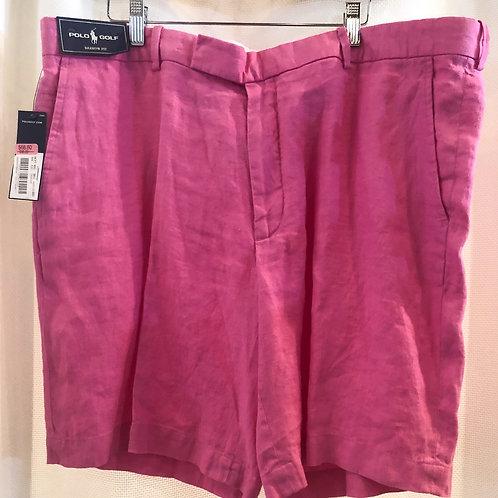 Vintage Pink Ralph Lauren Polo Golf Shorts