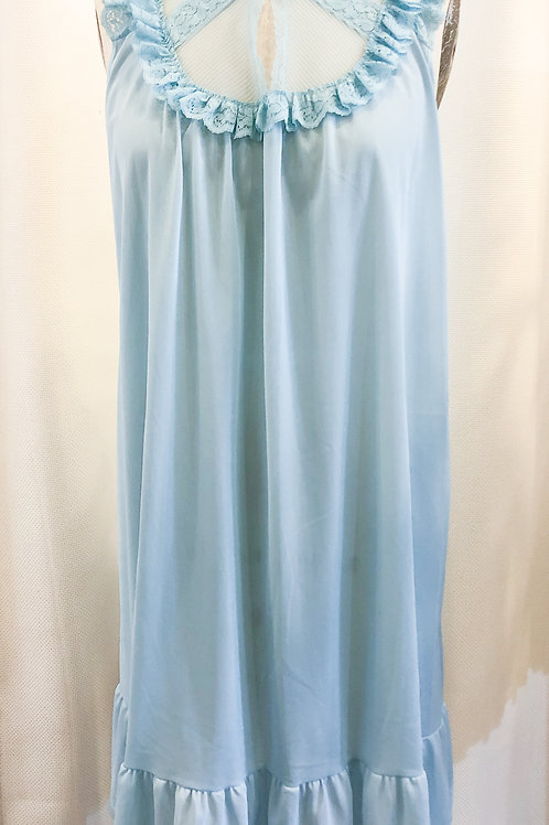 Vintage Blue JC Penney's Nightgown