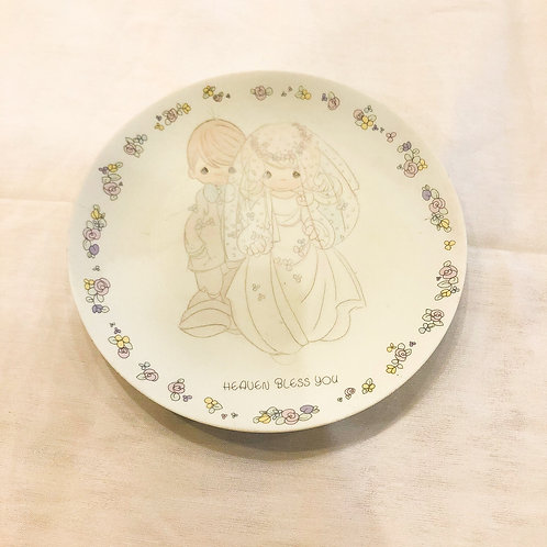 Vintage Precious Moments Plate