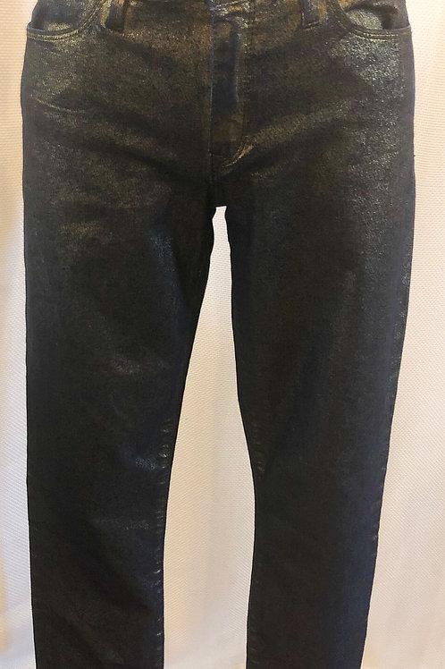 Vintage Metallic Gold Club Monaco Jeans