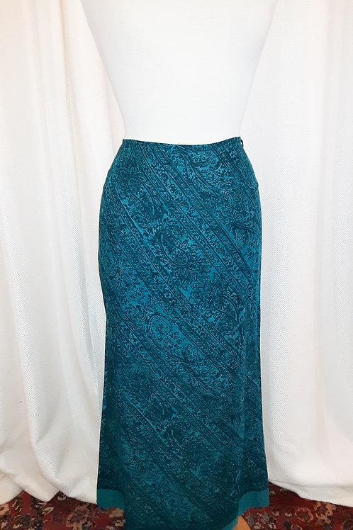 Vintage Blue Norton McNaughton Skirt