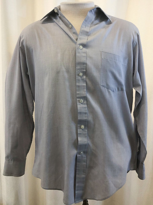 Vintage Blue Hennessy Button Down
