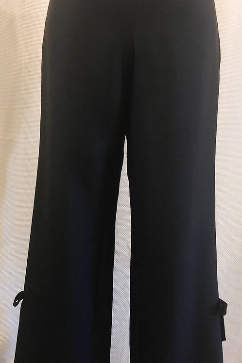 Vintage Black Teri Jon Capri Pants