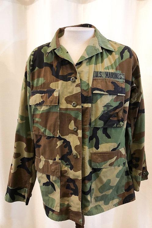Vintage Camouflage U.S. Marines Jacket