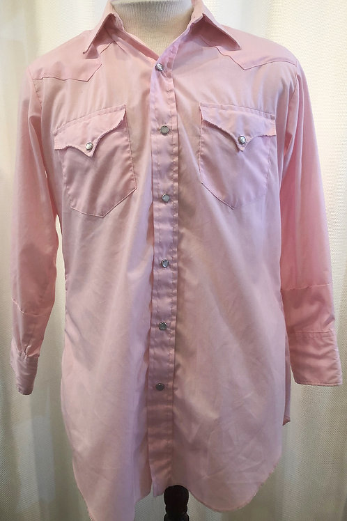Vintage Pink California Ranchwear Button Down