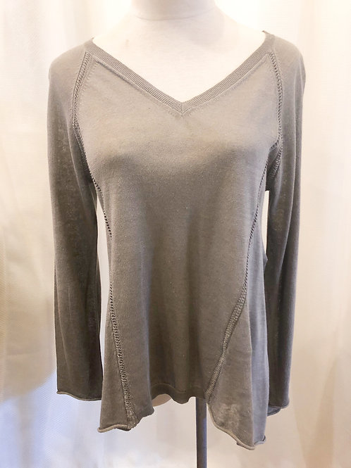 Vintage Gray Lafayette 148 Sweater