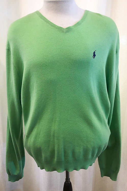 Vintage Light Green Ralph Lauren Polo Sweater