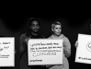 'Voices of Greensboro' Raised in Support of Café Europa