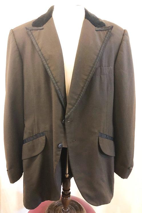 Vintage Brown Jim's Formalwear Blazer