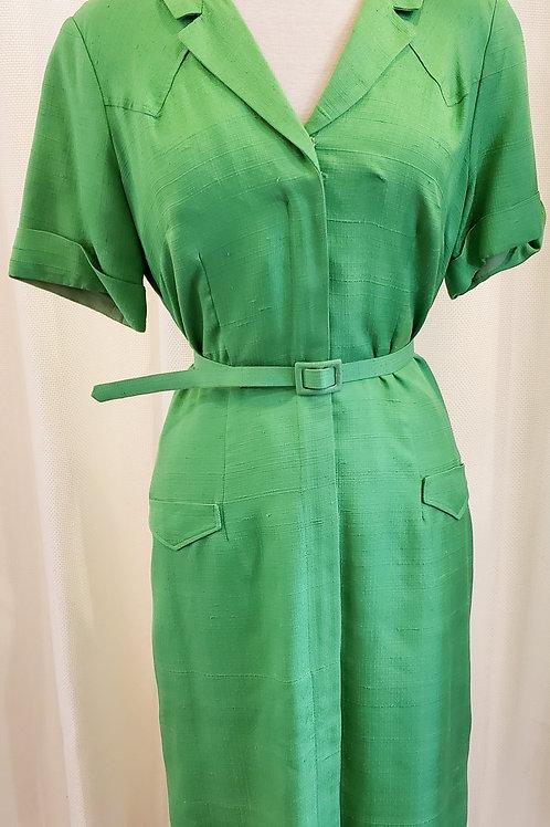 Vintage Green Barney Max Dress