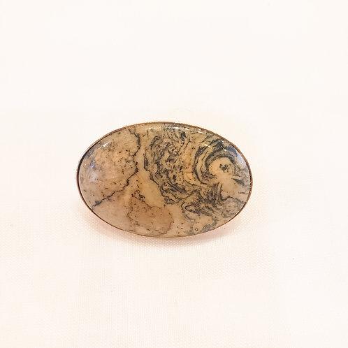 Vintage Marbled Clip