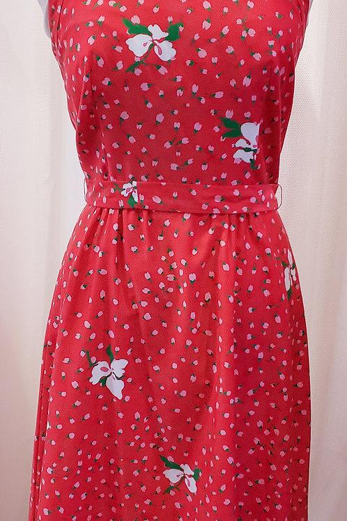 Vintage Pink Floral Malia Dress