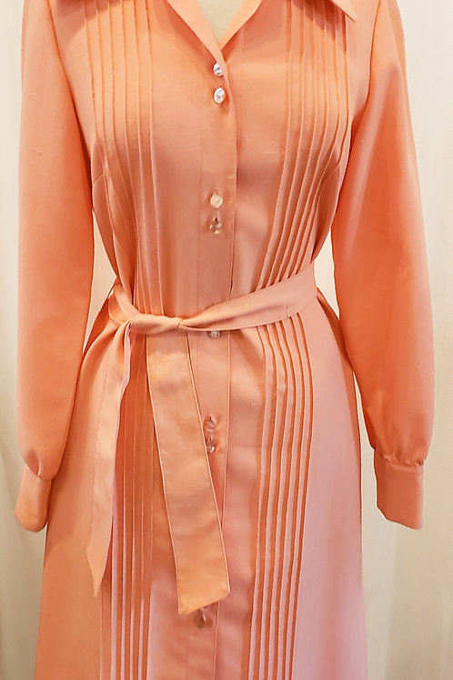 Vintage Peach Lilli Ann Dress