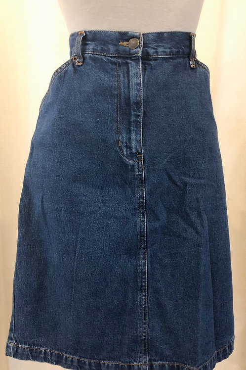 Vintage Bill Blass Denim Skirt