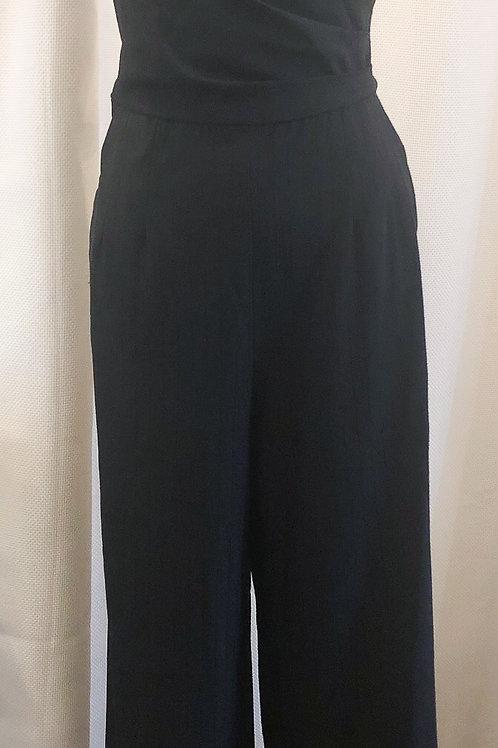 Vintage-Inspired Pinstripe Jumpsuit